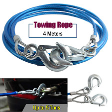 Heavy Duty Vechicle Steel Towing Rope Strap For Off-Road Recovery and Hauling