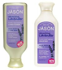 Jason Volumizing Shampoo and Conditioner Lavender Natural Products Fine Hair New