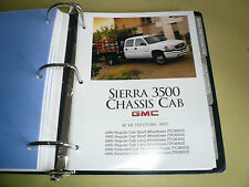 2005 GMC Sierra 3500 Chassis Cab Product Portfolio Pages Facts