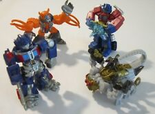 Transformers Robot Heroes Lot - Optimus Prime vs Scorponok and Unicron