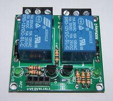 12V DC 2 Canal Relay Module Shield para Arduino Uno Mega Picaxe Raspberry Pi