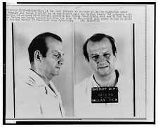 Mug Shots,Jack Ruby,Dallas County Jail,Texas,Fatally Shot Lee Harvey Oswald,1963
