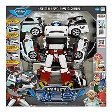 TOBOT Quadrant - 4 cars Copolymer Transformer Robot Diecast /korea Animation toy