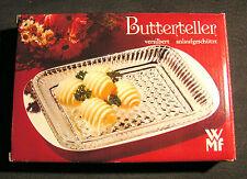 WMF Butterteller Buttertablett versilbert, NEU & OVP, Rarität 70er / 80er Jahre