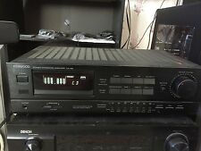 Kenwood KA-128 Integrated Amplifier With 7 Band Graphic Equalizer 125 Watts/CH