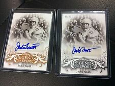2015 Leaf Legends of Sport Jack Smith Sliver 12/25 Base auto Autograph lot 2