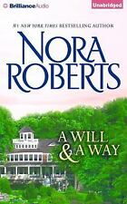 A Will and a Way by Nora Roberts (2015, CD, Unabridged)