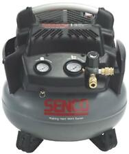 NEW SENCO PC1280 PANCAKE 6 GALLON 1.5 HP 150 PSI AIR COMPRESSOR NEW SALE 2771624