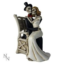 NEMESIS NOW GOTHIC/SKELETON FIGURE *FOR BETTER FOR WORSE* WEDDING NEW & BOXED