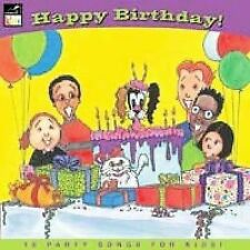 FREE US SH (int'l sh=$0-$3) NEW CD Various Artists: Happy Birthday