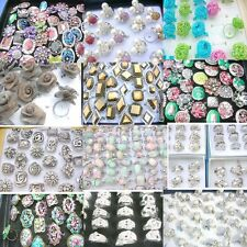 200 pcs wholesale bulk lot rings fashion jewelry bargain *Ship From US/Canada*