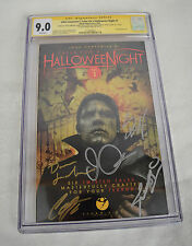 John Carpenters Tales For A Halloween Night 1 GN CGC SS Signed 7x Steve Niles
