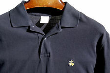 Brooks Brothers 346 L Gentleman's Navy Blue Short Sleeve Polo Shirt