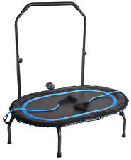 Stamina InTone Oval Fitness Trampoline Rebounder w/ Handlebar & Monitor NEW 2017