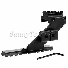 Tactical Side Mount Picatinny Weaver Rail Mount for Pistol Sight Scope Laser Gun