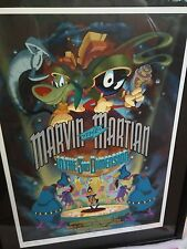 MARVIN THE MARTIN in the 3RD DIMENSION Limited Ed Movie Poster 333/500 Signed