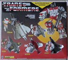 TRANSFORMERS G1 AUTOBOT AERIALBOTS SUPERION MIB! US SELLER!