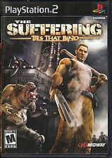 THE SUFFERING   TIES THAT BIND - PLAYSTATION 2  - PS2 - COMPLETE