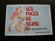 FRANCE - carte postale 1989 les puces de reims (cy10) french