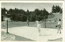 Goffs Falls, NH The Paddle Tennis Court at the Elms 1945