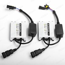 2X 55W AC Digital Slim HID Xenon Ballasts Universal Replacement Conversion Kit