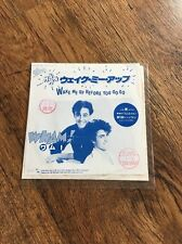 "❣RARE❣️JAPANESE PROMO VINYL 7""•Wake Me Up Before You Go-Go~Wham! (George Michael"
