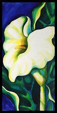 Ida von Konarzewsky Cala I Poster Bild Kunstdruck im Alu Rahmen schwarz 100x50cm