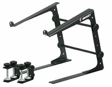 Odyssey LSTAND Laptop Stand Pro DJ Computer Bracket w/ 3 Configurations - Black
