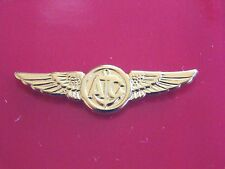 US NAVY NAVAL FLIGHT AVIATION AIRCREW WING MESS DRESS MINI QUALIFICATION BADGE G