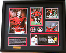 New Wayne Rooney Signed Manchester United Limited Edition Memorabilia