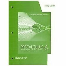 Study Guide for Stewart/Redlin/Watson's Precalculus: Mathematics for Calculus,