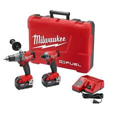 Milwaukee 2897-22 M18 FUEL™ 2-Tool Hammer Drill Impact Combo Kit - BRAND NEW !!!