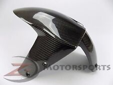 2007-2009 Z1000 Front Tire Fender Mud Guard Cover Fairing Cowl 100% Carbon Fiber
