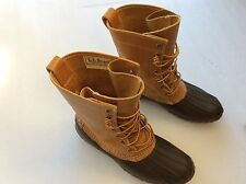 Vintage 7 Eyelet LL Bean Maine Hunting Shoes Women's Size 8--Duck,Mud,Snow,Rain