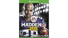 Madden NFL 25 (Xbox One, 2013) Brand New Factory Sealed ~ Free Shipping!