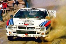 20 different photos printed on glossy paper LANCIA 037 RALLYE MARTINI