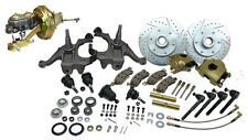 1963-66 Chevy-GMC Truck C10 Front Disc Brake Conversion Kit, 6 Lug Drop Height