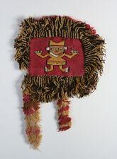 Chimu Culture Pre-Columbian Figural Textile - North Coast Peru Circa 900-1470 AD
