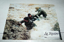 PHOTO EXPLOITATION LA RIVIERE 1984 RYDELL MEL GIBSON SISSI SPACEK SHANE BAILEY