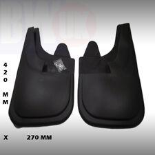 GRANDE 42 X 27cm Gomma Parafanghi paraspruzzi Coppia anteriori MF-NL