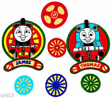 "3.5"" THOMAS THE TRAIN TANK JAMES FABRIC WALL SAFE FABRIC DECAL CHARACTER CUT OUT"