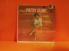 PATSY CLINE - HERE'S PATSY CLINE - VOCALLION VL73753 IN SHRINK LP VINYL -L