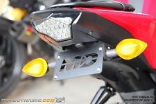 15-16 Yamaha YZF R3 YZF-R3 Complete Fender Eliminator Kit w/ LED Plate Light