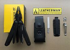 Leatherman SURGE Black Multi-Tools+Leather Sheath+Bit Kit+Removable Pocket Clip