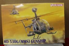 Dragon 1/35 Scale MD 530G Mast Mounted Sight Helicopter Gunship Model Kit  A3