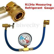R134A Air Conditioning Car Measuring Refrigerant Recharge Hose Gauge Adapter Kit