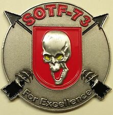 3rd Battalion 7th Special Forces Group (A) serial # 224 Army Challenge Coin