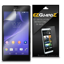 2X EZguardz LCD Screen Protector Skin HD 2X For Sony Xperia T3 (Ultra Clear)