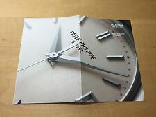Booklet PATEK PHILIPPE New Model 2006 - Calatrava Ref. 5127/1 - All Languages