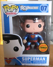 Funko POP Superman Limited Chase Special Metallic